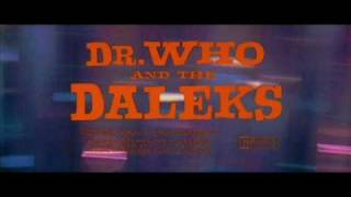 Dr. Who and the Daleks (1965) The Countdown by Malcolm Lockyer