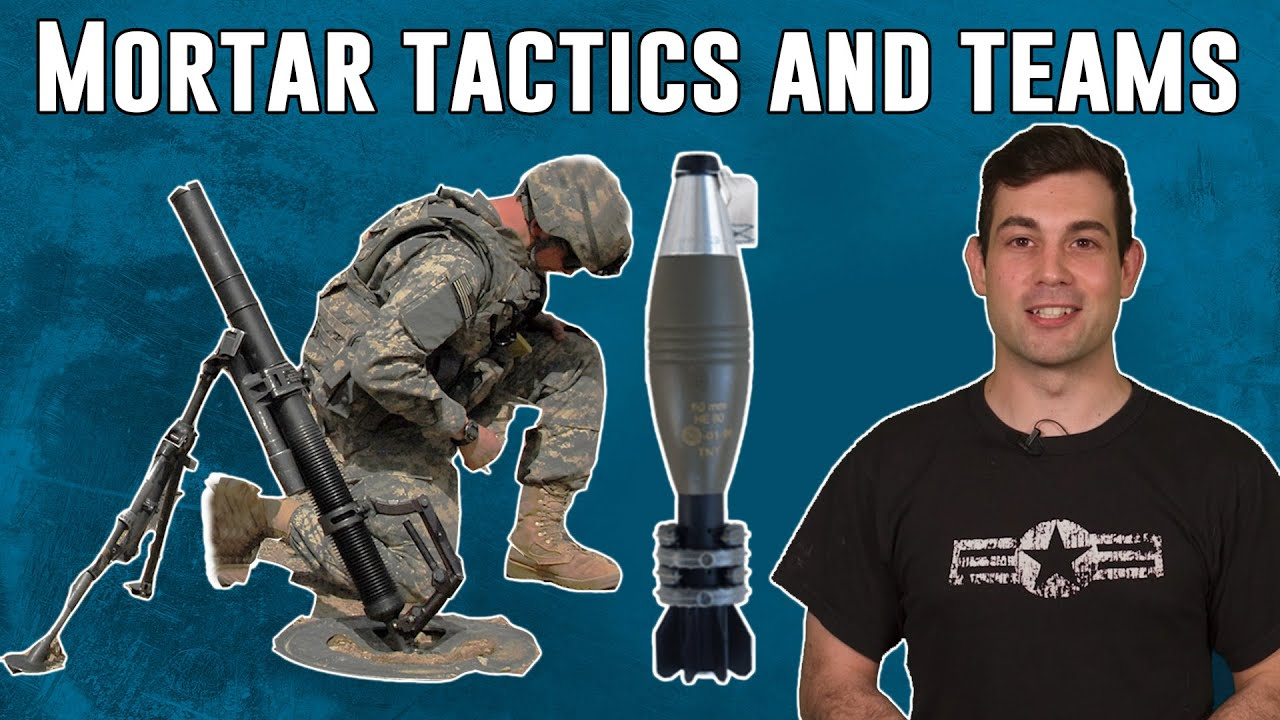 """Mortar Team Tactics and Weapons 11 Charlie """"Hang it!"""""""