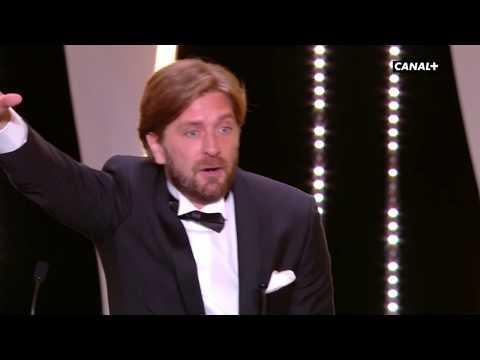 Ruben Ostlund Palme d'Or fait rugir le Palais des Festivals