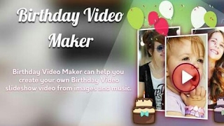 Happy birthday | video maker| app for andriod| hindi wishing your friend| 2017