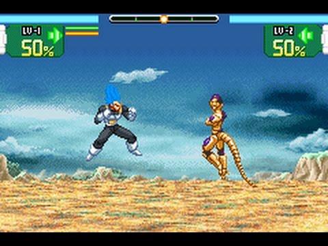 Dragon Ball SuperSonic Warriors(MOD) Vegeta SsjBlue VS Golden Freezer