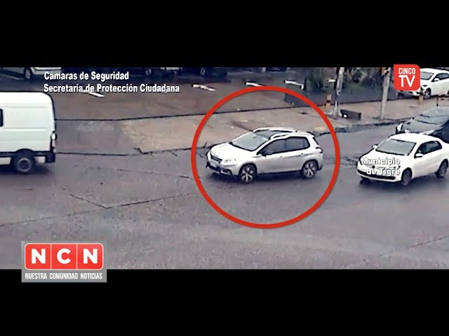 CINCO TV - Robaron en General Pacheco y el sistema BUS.CA.DO.R los identificó