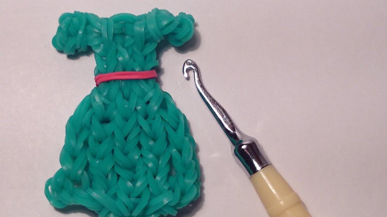 Платье из резиночек сплести