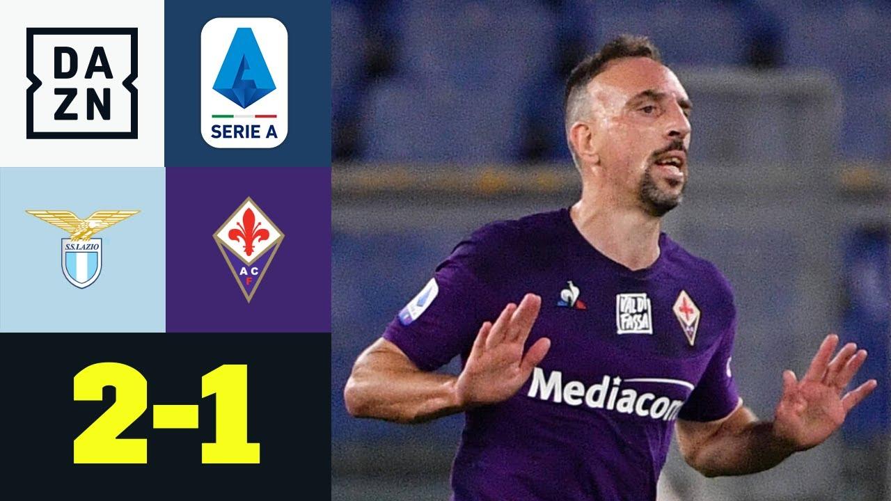 Riberys Traum-Solo zu wenig! Rom dreht Partie in Halbzeit zwei: Lazio - Florenz 2:1 | Serie A | DAZN