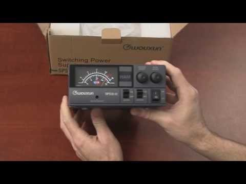 Wouxun SPS30 III Switching Power Supply Unboxing