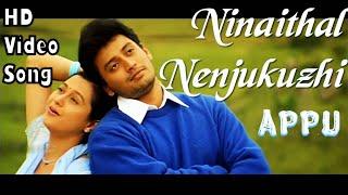 Ninaithal Nenjukuzhi   Appu HD Video Song + HD Audio   Prashanth,Devayani   Deva