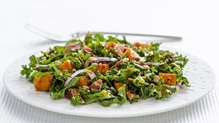 Roasted Sweet Potato & Kale Salad
