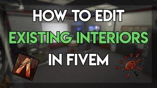 How to Create Custom Interiors in GTAV + FiveM with Menyoo Tvibrant HD