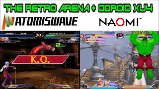 Odroid Xu4 : How to play Naomi & Atomiswave games with V1.5.2 Retro Arena port of Retropie