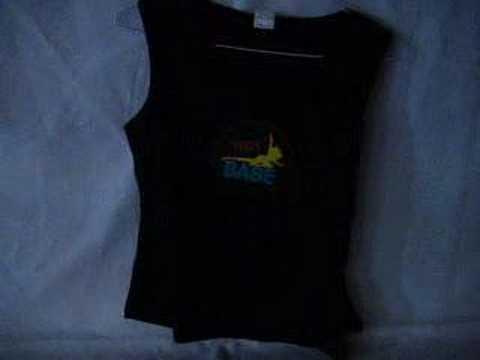Download ElectroLuminescent, EL, Flash T-shirt (Model Hot Babe V.1)