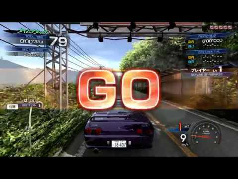 How to play Initial D Arcade Stage 6 AA in your PC