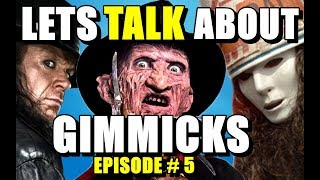 Gimmicks - Buckethead, WWE (Let's Talk-Episode#5)