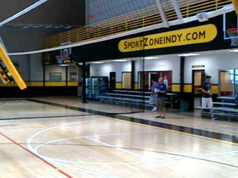 Sport Zone Indy  basketball to volleyball - automated june 2012
