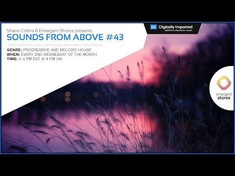 ♫ Best of Progressive House Sessions ♫ - Sounds from Above#43