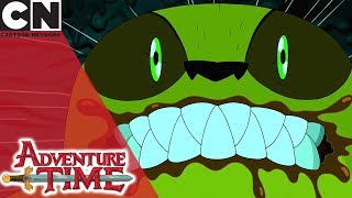 Adventure Time | Taking Down the Cave Monster | Cartoon Network