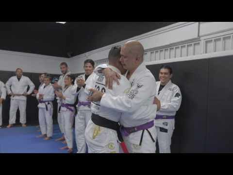 Rolando Samson Black belt promotion
