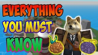 EVERYTHING YOU MUST KNOW | STEVE'S ONE PIECE | ROBLOX | AXIORE