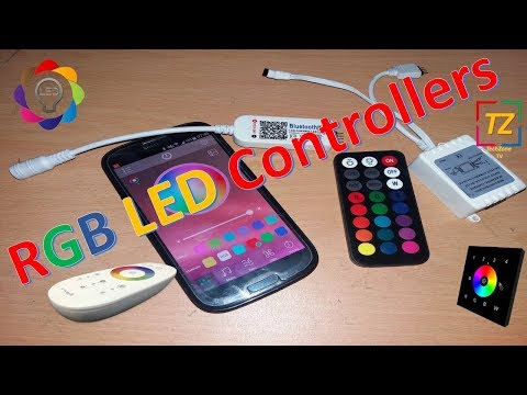 RGB LED Controller In Sinhala