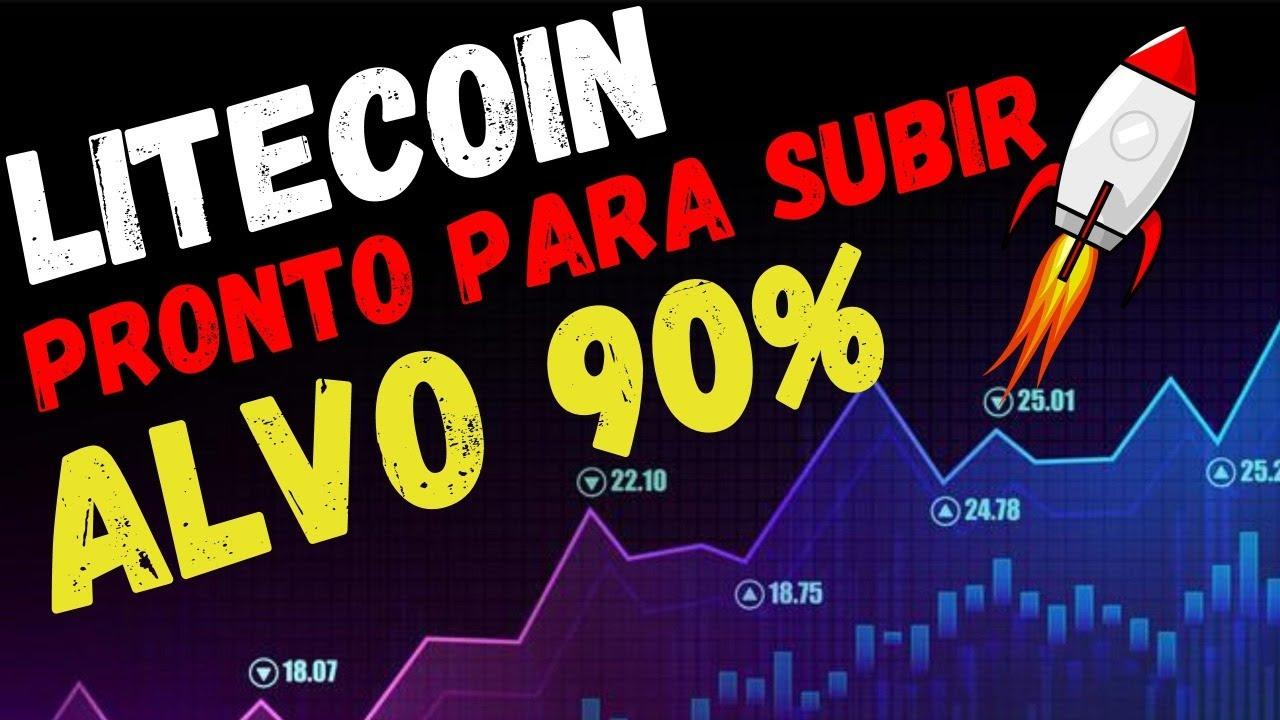 Litecoin ALVO DE 90% (PRONTO PARA SUBIR)