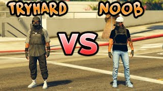TRYHARD vs NOOB - GTA 5 Online