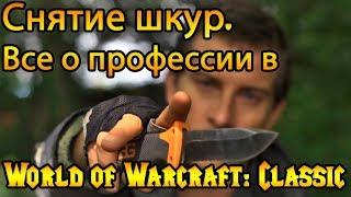 Снятие шкур. Все о профессии в World of Warcraft: Classic