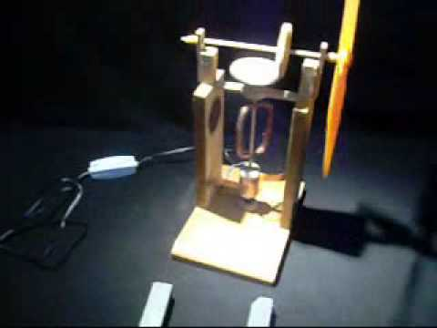 Experimentos de Física: MOTOR ELÉCTRICO -- www.tallerdefisica.tk