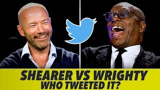 BRUTAL TWITTER CHALLENGE  | With Alan Shearer and Ian Wright