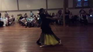Florin & Natalia performance at the S.O.S/ALBANY DANCESPORT dance