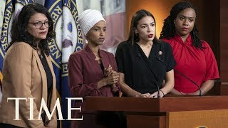 Congresswomen Targeted By Trump's Racist Tweets: 'This Is The Agenda Of White Nationalists' | TIME