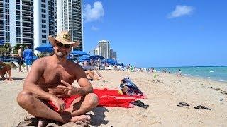 США. Один день Майами Бич, ПЛЯЖ Miami Beach(Помощь иммигрантам в США - http://ru-florida.com Мы рады помочь всем, кто собирается на отдых или ПМЖ в США в солнечный..., 2014-05-12T04:04:07.000Z)