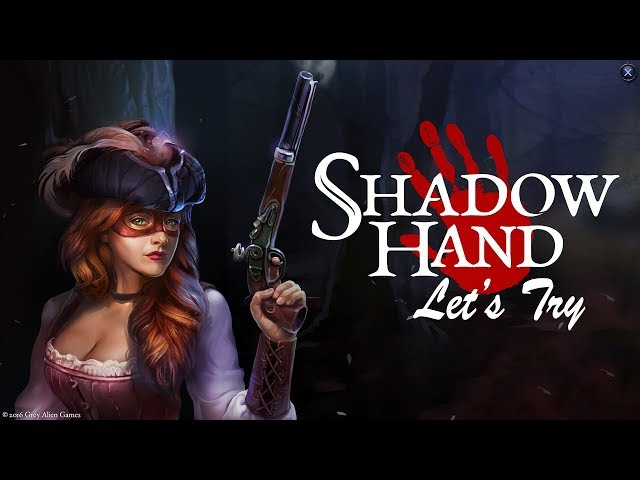 Let's Try Shadowhand - A Strategic RPG Card Game
