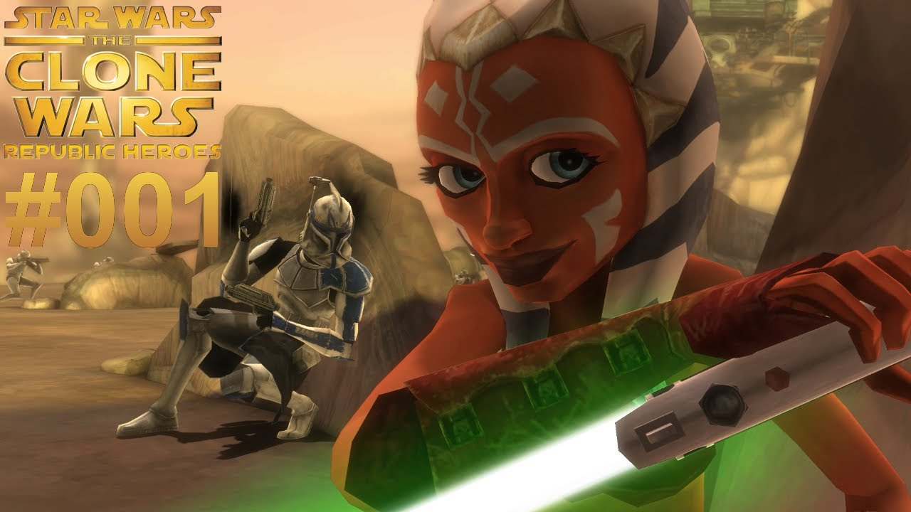 Let\'s Play Star Wars The Clone Wars Republic Heroes #001 [Together ...