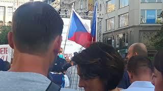 Milion chvilek pro demokracii, Praha 5.6. 2018 - Miroslava Němcová