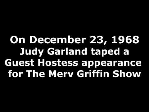 Judy Garland - Just In Time - Merv Griffin Show - 12/23/68