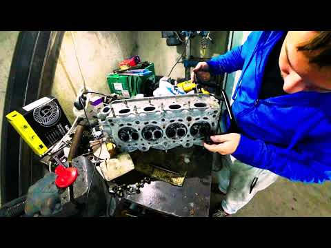 Ремонт двигателя D15B2 Honda Civic ED6 Repair Engine