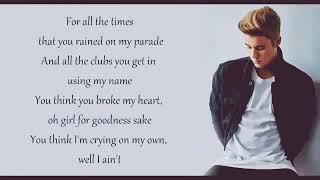 -Lagu Justin Bieber Love Yourself-
