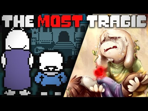 Who Is The Most Tragic Character In UNDERTALE? Undertale Theory | UNDERLAB