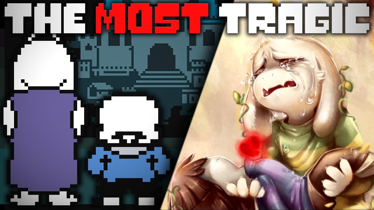 who is the most tragic character It's hard to compare 'which character gets screwed over the most', but i've tried to anyhow, so here's a video on the most tragic character in undertale beautiful artwork by walkingmelonsaaa .