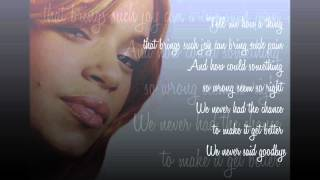 Watch Faith Evans My First Love video