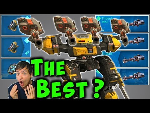 New BEST? TRIDENT BEHEMOTH Mk2 War Robots 5.3 Max Gameplay WR