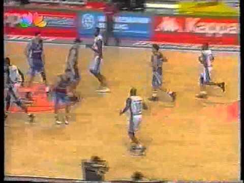 Hellenic ( Greek ) Basketball ALL STAR GAME 1996 part 3