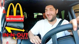 ORDERING AMERICAN FAST FOOD IN A FOREIGN LANGUAGE!!