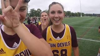 Arizona State Women\'s Lacrosse Fall Ball Tournament- Navy 2017