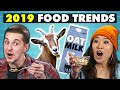 Will These Foods Be 2019's Biggest Trends? | College Kids Vs. Food Videos [+50] Videos  at [2019] on realtimesubscriber.com