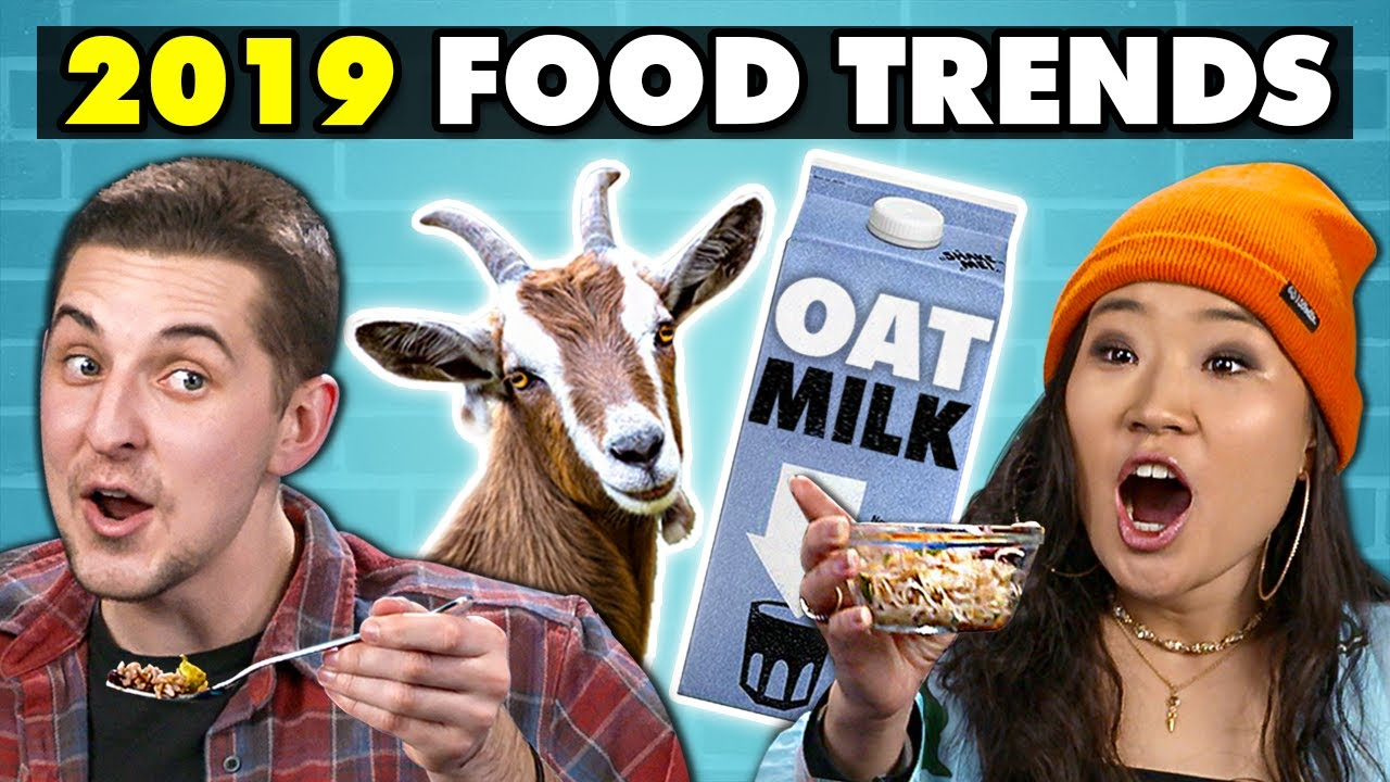 College Kids Try 2019's Biggest Food Trends | College Kids Vs. Food