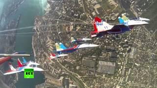 Нас бьют, мы летаем ...  в Севастополе.