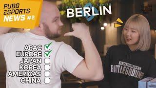 【PUBG】Esports News #2 l PGS:Berlinに進出する…