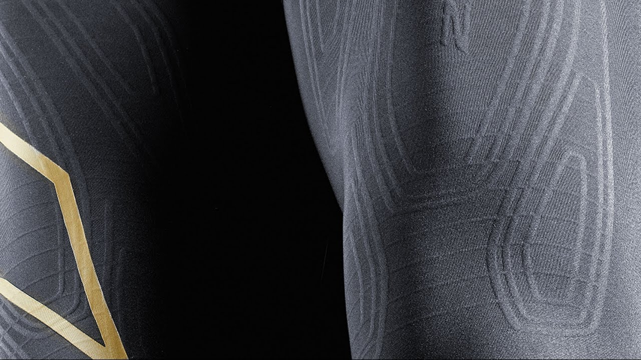 MCS Football Compression Tights // Black + Gold (M) video thumbnail