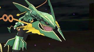Pokemon Omega Ruby - Mega Rayquaza, Zinnia & Deoxys (Delta Episode Ending)
