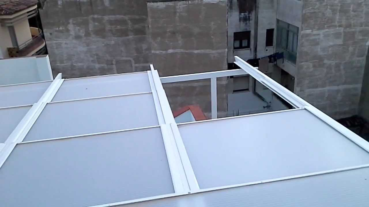 techos retractiles para terrazas